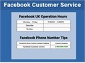 Yes you can directly access our Facebook Helpline number from any part of the world To obtain our