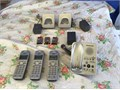 Phone wireless for land line made by Panasonic Complete with all chargers and good condition