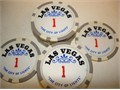 12 Rare One Of A kind Hard To Find 100 Advertising Chips OWN A PIECE OF VEGAS FABULOUSFAMOUS P