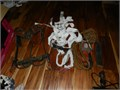 Pole Climbing Equip Spikes harness  safety rope 15000 803-279-4940