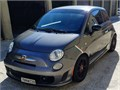 2013 Fiat 500 Abarth TURBOCHARGED  One owner  Excellent Condition Metallic Gray Charcoal leather