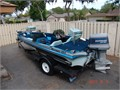 1985 Ranger 373V Bass Boat  very good cond  low hrs 680000 805-967-1127