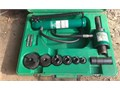 Greenlee Slugbuster Hydraulic Knockout set like new condition with case