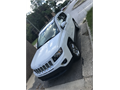 2014 white Jeep Compass Limited in excellent condition Beautiful brown leather interior Low mileag