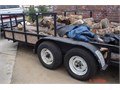 16 bed x 83 19 overall reinforced hitch 2 ball 3500 lb winch tow hitch on rear brand new a