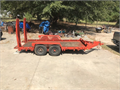 Trailer 65 x 15 10000lbs Double axles Tires and brakes replaced  in 2015