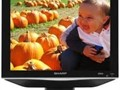 sharp  tv lcd  15 in  comes with remote control  and  free dvd p layer free 10 dvd movies  323  38