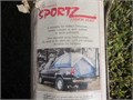 SPORTZ 95001 Deluxe Truck Tent fits any full size 8 bed complete and easy to set up MINT CONDITI