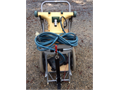 Hammerhead Commercial Pool Vacuum with truck hitch good condition slightly used  Battery not incl