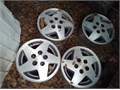 15x7 aluminum jeepcherokee rims 5 x 4 12 bolt pattern 50 for all 4 or trade for 5 lug c10 rims