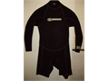 Cool All Black Wetsuit Rare  Long Sleeve and Short Leg Quality 22 most are cheap 21 Only got