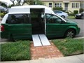 This is 2008 Dodge Grand Caravan with the increased roof height for transporting disabled peoples wi