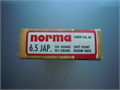 Vintage Norma 65x50  156 gr rnd nose soft point  Japanese Ammo Mid-1960s Manufactured In Sweden