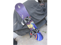 LAMAR Snowboard 144cm w Lamar  ratchet bindings  GREAT CONDITION great all mountain board bottom i