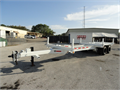 50ft Extendable with 30000 lb Max Load Utility Pole Trailer Refurbished to Like New Condition