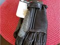 New Size XL Womens motorcycle gloves made from top grain cowhideReg 90 Flex ribbing with