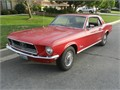 1968 Ford Mustang Used Private Party Coupe 6 Cyl Red Black Good cond Auto 2WD 2 Doors car