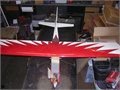 Gas Airplane 52 Foot Wingspan 4 feet long remote control I got this at a yard sale I havent tr