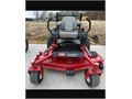 Toro ZMaster 60 inch cut commercial mower with My Ride System Remaining factory warranty with less