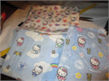 vintage Hello Kitty 100 cotton fabric sold by the yard 36 x 36 500 310-645-9708