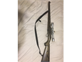 Ruger Stainless 1022 carbine with a international mannlicher stock Includes a 4X32 Stainless Scop