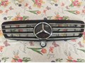 Fits 00-02 Mercedes W220 S430 S55 AMG Black Grille  Star Emblem that go on hood949 929-0723