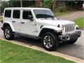 SHARP JEEP WRANGLER SAHARA UNLIMITED  ITS A MUST SEE  ONLY 17000 MILES  WHITE HARD TOP WITH REMOV