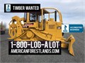 TIMBER WANTED  American Forest Lands Washington Logging Company offers forestry service work truck