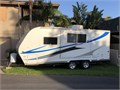 2011 Eclipse Evolution 20 Travel Trailer wslide out Great condition Beautiful Espresso interior