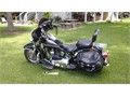 03 Heritage Softail classic Vance  hines   mustang seat quadzilla cowling 500000 of add on eq