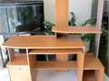 Computer office desk W shelves in good condition 30 El Monte text or call Peter 626-8237430