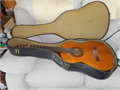 Acoustic guitar with hard case Call Sandy 805-448-7643