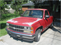 This is a classic Chevy Scottsdale one owner 1989 with 5 speed in the floor with overdrive The tr
