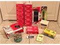 Office Supplies - NEW in PackageBox - Binder Clips Paper Clips Staples Post-It Notes Pens Mars
