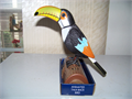 Brand new animated talk-back Toucan bird  Batteries included  Beautiful as decoration and to have