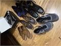 Mens Name Brand Shoes 2000 each pair size 9 Sperry Levi Boots Addias ASICS   Alfiani Dress Sh