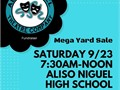 GIANT YARD SALE FUNDRAISER for the Aliso Niguel Theatre Company at Aliso Niguel High School on Satur