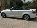 2013 BMW 128i Certified 37000 miles Private Party Convertible 6 Cyl White Black Excellent co
