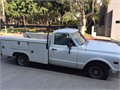 1969 Chevrolet C20 utility utility bed Used 98000 miles Private Party Truck 8 Cyl White Blue