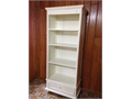 WhiteIvory Shabby Chic Bookcase 57 tall28 wide16 deep
