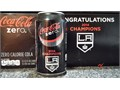 LA Kings 2014 Stanley Cup Champs Coke Zero Commemorative Aluminum Beverage Can Regional Limited Edi