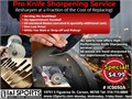 Pro Knife Sharpening ServiceResharpen at a Fraction of the Cost of ReplacingServing the Southba