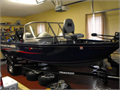 New condition trolling motor fish finder cover lights 60hp mercury great  boat for fishing and fam