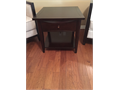 Model Home Furniture - Dark brown side table by Coaster Furniture - 255 x 255 x 23 14 Use