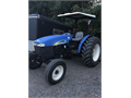New Holland 2009 TT 75a 75 HP 2WD Roof Canopy Front Weights 842 hours  Looks  runs great most