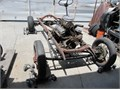 For rolling chassis with 1956 SBC 265 cu in pwr pac with pwr gluide 66 Nova rear end front  40