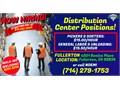 HIRING IMMEDIATELY WALK-IN APPLICATIONS WELCOME 8AM-5PMWere hiring ASAP for