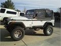 1993 Jeep Wrangler HO New clutch flywheel tires rebuilt trans mile marker winch truetrac front