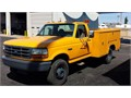 1997 Ford F-450 Dual Rear Wheels 15K GVWR 75 V-8 Automatic Working AC 64 K Miles Exceptiona