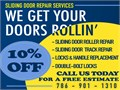 Sliding Door Repair- 10%